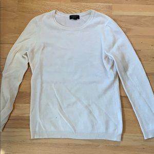 Cashmere cream sweater